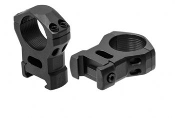"Leapers UTG Steel Picatinny Rifle Scope Mount Rings - 1"" HIGH - RSW1204"